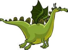 Drago verde Immagine Stock