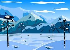 dragobrat χειμώνας της Ουκρανίας βουνών τοπίων Στοκ εικόνες με δικαίωμα ελεύθερης χρήσης