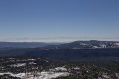 dragobrat χειμώνας της Ουκρανίας βουνών τοπίων Στοκ φωτογραφία με δικαίωμα ελεύθερης χρήσης