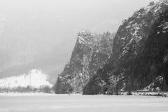 dragobrat krajobrazowa halna Ukraine zima Fotografia Stock