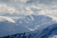 Dragobrat Ukraina Alpejski sceniczny ośrodek narciarski Fotografia Royalty Free