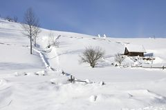 Dragobrat, Ukraine Stockbild