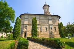 Dragomirna kloster Fotografering för Bildbyråer