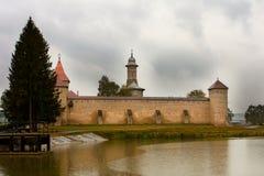 Dragomirna Kloster, Rumänien Stockbilder