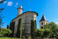 Dragomirna Monastery - The Church royalty free stock photography