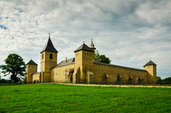 Dragomirna monastery, Romania Royalty Free Stock Photo