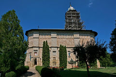 Dragomirna monastery Stock Image