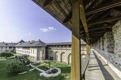 Dragomirna, romania, europe, monastery stock image