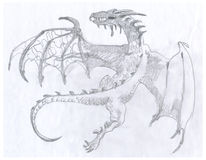 Dragon 1 Royalty Free Stock Photo