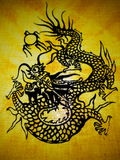 Dragon. It is a design of dragon Royalty Free Stock Photography