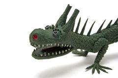 Dragon. Photo of a oriental dragon toy royalty free stock images