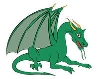 Dragon. A illustration of a Dragon Stock Photos
