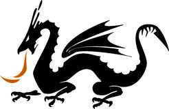 Dragon. Protector, a talisman against evil forces, protection against demons Stock Photo