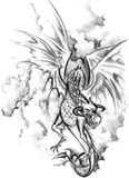 Dragon(2) Royalty Free Stock Image