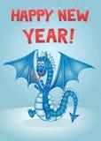Dragon. 2012 Happy New Year Stock Image