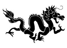 Dragon. For the New Year Stock Photos