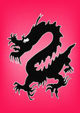 Dragon. A illustration of a dragon stock illustration