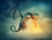 Dragon illustration libre de droits