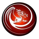 Dragon 5. Vector illustration of a mythical dragon Royalty Free Stock Photos