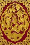 Dragon Art tapet Royaltyfria Foton