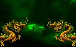 Dragon Asia Art Stockfoto