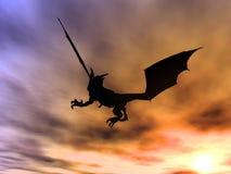 Dragon Attack 1 Royalty Free Stock Photos