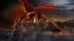 Dragon Attack Photos stock