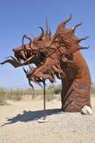 Dragon au parc national d'Anza Borrego Photographie stock