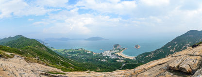 Dragon Back slinga i Hong Kong Fotografering för Bildbyråer