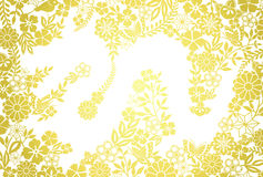 Dragon background. Golden background of a dragon Stock Illustration