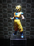 DRAGON BALL Hero Son Goku Statue. In TOY SOUL 2015 in Hong Kong Royalty Free Stock Images