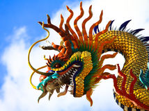 Dragon. The belief of the Chinese dragon Stock Photo