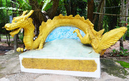 Dragon bench Stock Photo
