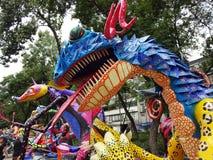 Dragon With Big Teeth Fotografia Stock