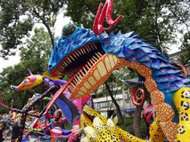 Dragon With Big Teeth Stock Photo