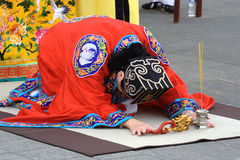 Dragon Blessing Ceremony Stock Image