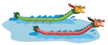 Dragon Boat ilustração do vetor