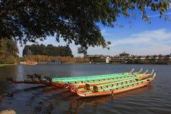 Dragon Boat Fotografering för Bildbyråer