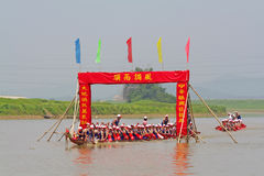 Dragon boat Royalty Free Stock Photography