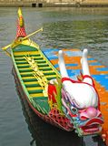 A dragon boat Stock Images