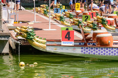 Dragon Boat Championship Royalty Free Stock Photo