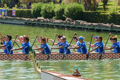 Dragon Boat Championship Royalty Free Stock Images