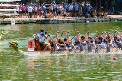 Dragon Boat Championship Royalty Free Stock Photos