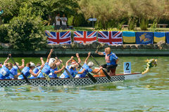 Dragon Boat Championship Stock Images