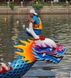 Dragon Boat Festival 2013 à Taïwan Image stock