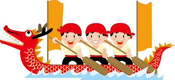 Dragon Boat Festival. Illustration of Dragon Boat Festival Stock Photography