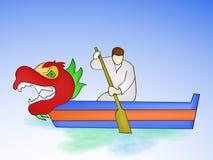 Dragon Boat Festival Background Royalty Free Stock Photos