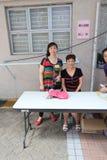 Dragon Boat Festival Carnival tradicional 2015 em Hong Kong fotos de stock