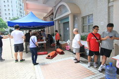 Dragon Boat Festival Carnival tradicional 2015 em Hong Kong imagem de stock royalty free