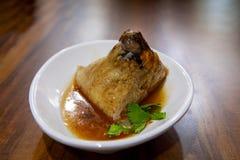 Dragon Boat Festival, culin?ria tradicional, costeleta feito a m?o da carne foto de stock royalty free